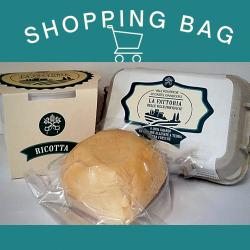 Shopping Bag 1: Uova, Ricotta e...